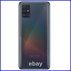 Samsung Galaxy A51 128GB Crush Black Verizon Smartphone SMA515UZKVZ