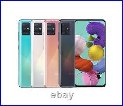 Samsung Galaxy A51 128GB (GSM UNLOCKED) 6.5 4GB RAM Dual Sim NEW