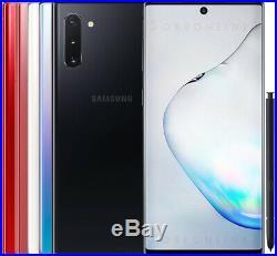 Samsung Galaxy Note 10 256GB 8GB RAM SM-N970F/DS (FACTORY UNLOCKED) 6.3