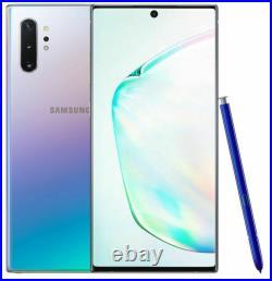Samsung Galaxy Note 10+ Plus N975U 256GB Aura Glow Fully Unlocked Mint Open Box
