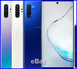 Samsung Galaxy Note 10 Plus N975 256GB GSM + CDMA Unlocked Smartphone 2019 NEW