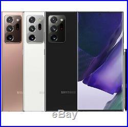 Samsung Galaxy Note 20 Ultra 256GB 12GB RAM SM-N9860 (FACTORY UNLOCKED) 6.9