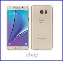 Samsung Galaxy Note 5 N920V 32GB 64GB r(Verizon)Smartphone Cell Phone Unlocked