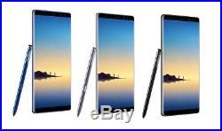 Samsung Galaxy Note 8 N950U 64GB 4G LTE GSM UNLOCKED Smartphone