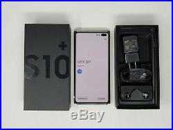 Samsung Galaxy S10+ Plus G975U 128GB Prism White Factory Unlocked NEW