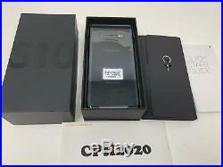 Samsung Galaxy S10+ Plus SM-G975U 128GB Black GSM World Phone (Unlocked)