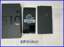 Samsung Galaxy S10+ Plus SM-G975U 128GB Prism White AT&T (Unlocked) US GSM Phone
