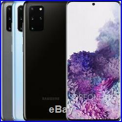 Samsung Galaxy S20+ Plus 128GB 8GB SM-G985F/DS (FACTORY UNLOCKED) 6.7 64 MP
