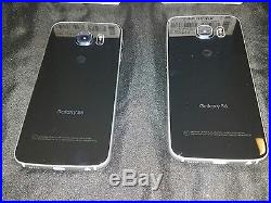 Samsung Galaxy S6 Edge With boxes. 2 phone lot