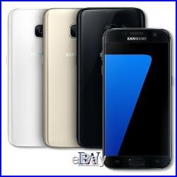 Samsung Galaxy S7 Sm-g930a 32gb Gold-att-cricket-h20-consumer Cellular
