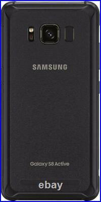 Samsung Galaxy S8 Active G892 64GB Meteor Gray UNLOCKED Smartphone SHADED