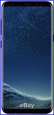 Samsung Galaxy S8 Plus G955U Black Factory Unlocked, Verizon AT&T T-Mobile LTE