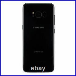 Samsung Galaxy S8 Sm-g950u 64gb Black Fully Unlocked Gsm & Cdma Verizon At&t