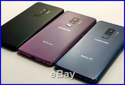 Samsung Galaxy S9+ Plus G965U 64GB T-Mobile Sprint ATT Verizon Carrier Unlocked