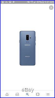 Samsung Galaxy S9+ Plus SM-G965F/DS Dual Sim (FACTORY UNLOCKED) 6.2 64GB 6GB RAM