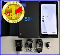 Samsung Galaxy S9 Plus SM-G965U 64GB Black Factory Unlocked Verizon AT&T TMobile