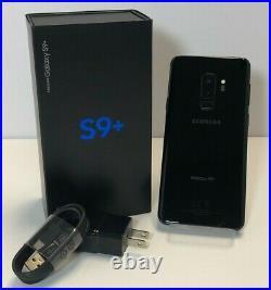 Samsung Galaxy S9+ Plus Sm-g965u New Black Blue Verizon Unlocked At&t T-mobile