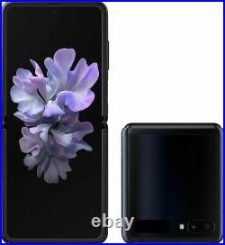 Samsung Galaxy Z Flip 256GB Mirror Black Brand New Unlocked
