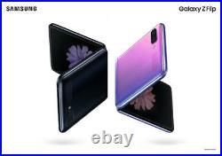 Samsung Galaxy Z Flip SM-F700U1- 256GB Purple Unlocked A stock