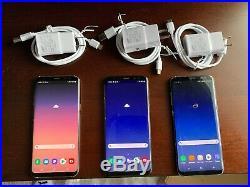 Samsung Galaxy s8 plus Lot Of 3 #1