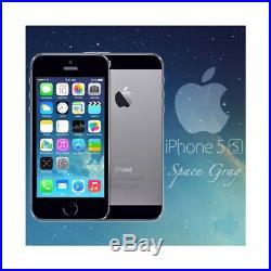 Smartphone apple iphone 5s 32gb space grau 4 neu