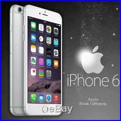 Smartphone apple iphone 6 64gb silver 4,7 neu mit zubehör und garantie