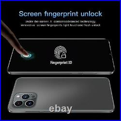 Smartphone i12 Pro Max Android 12GB+512GB ROM Unlock Dual sim