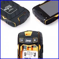 Smartphone jeep z6+ ip68 8gb dualsim schwarz-gelb artikel 249 waterproof mit