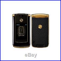 Telefon handy motorola razr2 v8 luxury gold 512mb garantiert