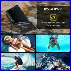 UMIDIGI BISON Rugged Smartphone Waterproof Shockproof 128GB Unlocked Cell Phone