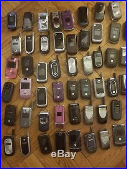 USED 150 phones+ Mixed Lot of Cell Phones from Nokia, Motorola, Samsung & More