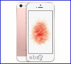 Unlocked Apple iPhone SE 4G LTE 32GB GSM World Smart Phone Rose Gold