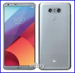 Unlocked New LG G6 5.7 H871 32GB 4G LTE Ice Platinum (AT&T) GSM World Phone