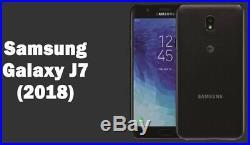 Unlocked New Samsung Galaxy J7 2018 J737A HD 4G LTE AT&T Black Phone