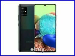 Unlocked Samsung Galaxy A71 5G SM-A716U AT&T 128GB Prism Cube Black Phone
