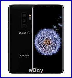 Unlocked Samsung Galaxy S9 Plus 64GB SM-G965U AT&T World 4G LTE Phone Black