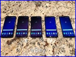 Wholesale Bulk Lot of 5x Samsung Galaxy S9+ Plus, Unlocked, 64gb