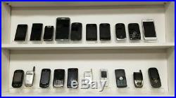 Wholesale lot of 220 Cell Phones-All Phones FOR PARTS-Broken or missing pieces